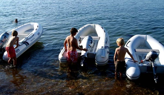 Highfield inflatable tenders