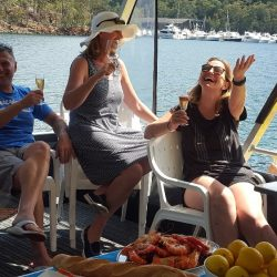 Akuna Bay Boat Hire Happy-customers