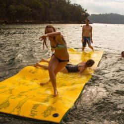 Akuna Bay Boat Hire Lilypad fun