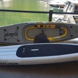 Repairs to inflatable SUPs and kayaks